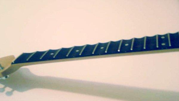 Stratocaster manico scalloped
