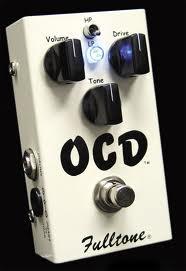 fulltone ocd overdrive distorsore gain dinamica