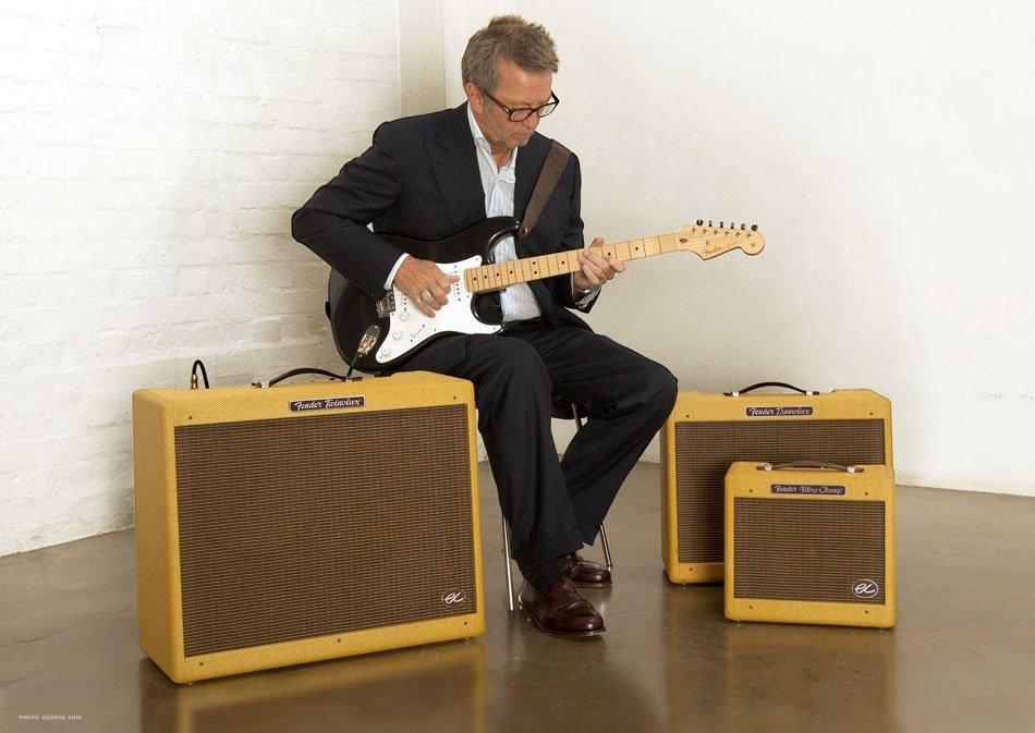 Twinolux Fender amps Eric Clapton Signature