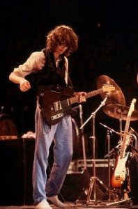 Jimmy Page Performing in Concert